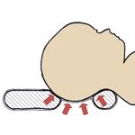 Poduszka Mimos wspomaga główkę